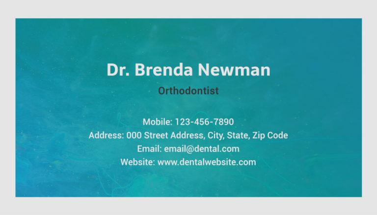 Dentistry Back 1