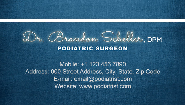Podiatrist Back 2