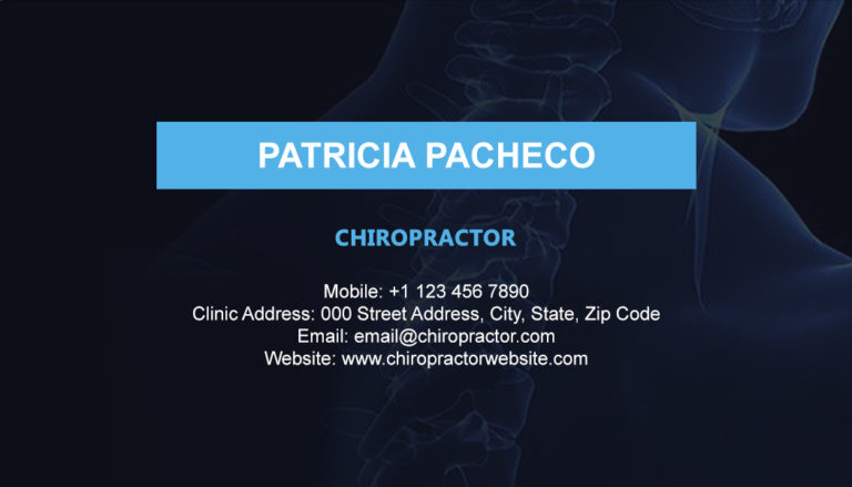 Chiropractic Back 3