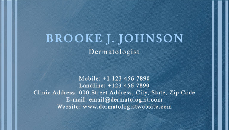 Dermatologist Back 3