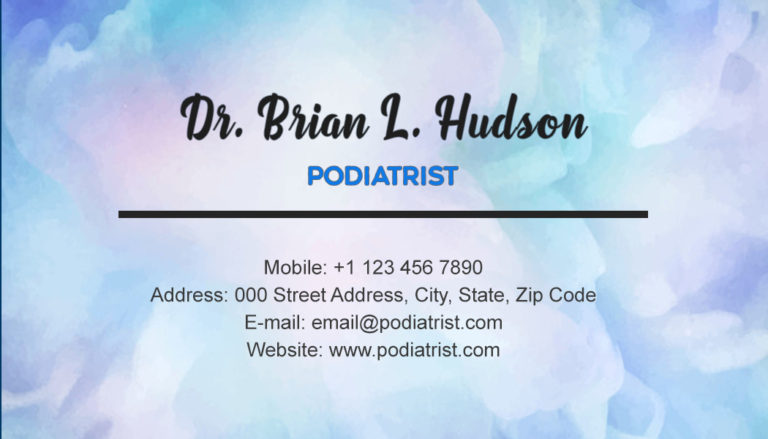 Podiatrist Back 3