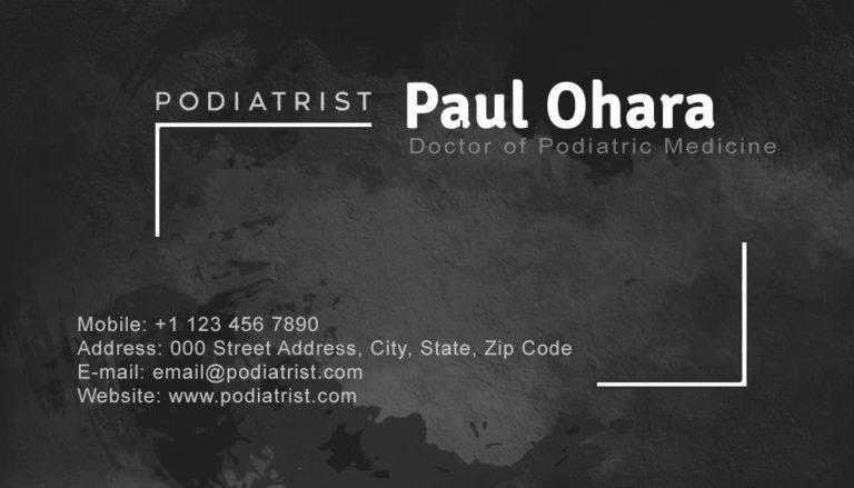 Podiatrist Back 4