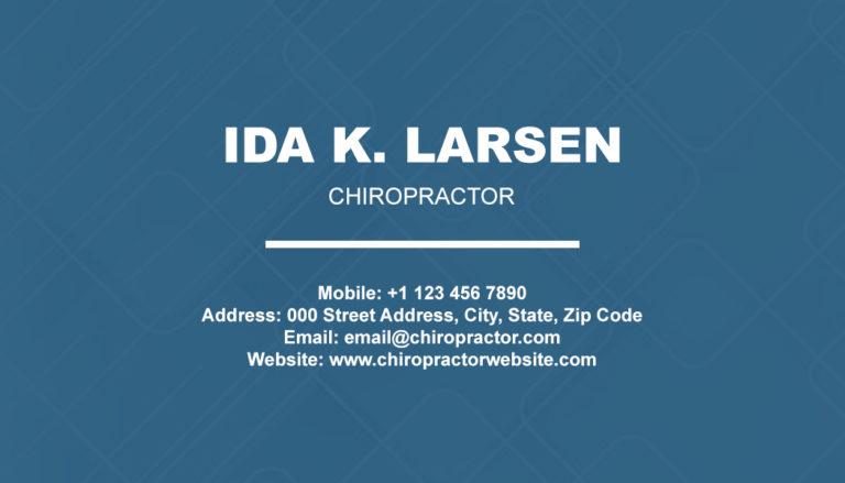 Chiropractic Back 5