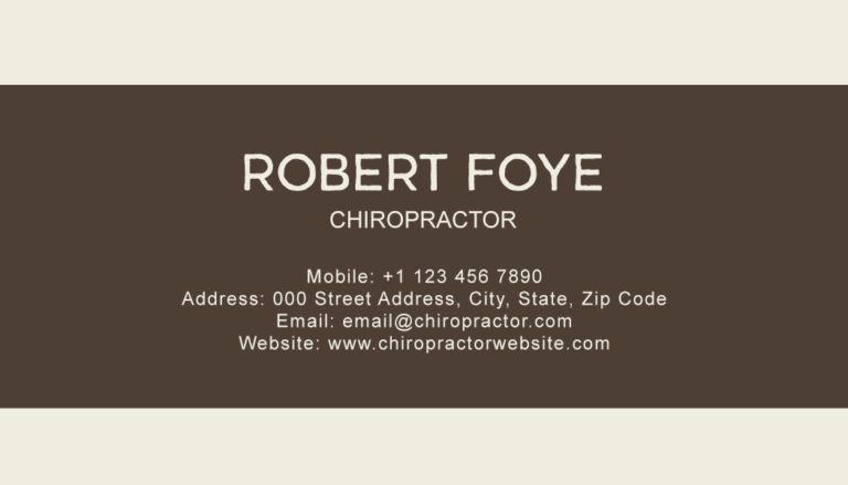 Chiropractic Back 6